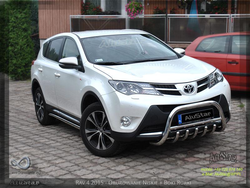 Toyota Rav 4 2015 rok Alustar Orurowanie